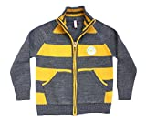 Campana Boys Striped Zipper Sweater - Gr...
