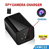 #6: Jenix JXMC22 1080P 12MP Wall Hidden Camera (Black)