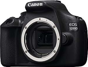 Canon EOS 1200D / Rebel T5 / EOS KISS X70  18-55 / 3.5-5.6 EF-S IS II Appareils Photo Numériques 18.7 Mpix Noir