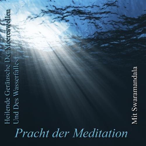 Heilende Geräusche Der Meereswellen Und Des Wasserfalles Mit Swaramandala Wasserfall Meditation