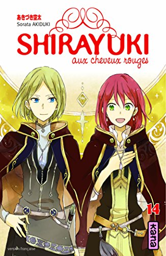 Shirayuki aux cheveux rouges (14) : Shirayuki aux cheveux rouges