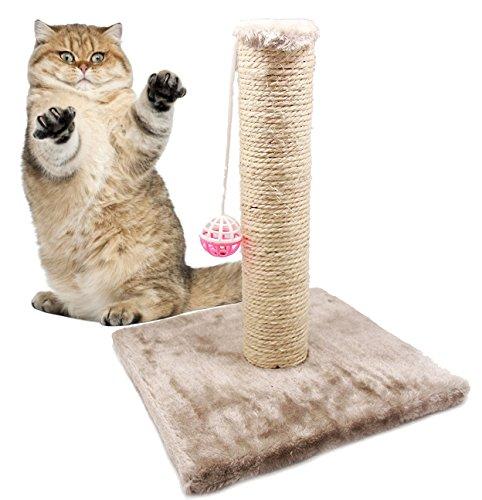 BPS Kratz-Spielzeug mit Glocke für Katzen, Kratzbaum für Katzen, Haustiere, zufällige Farbe, 28x 28x 32cm, BPS-3158*1, Modell 2