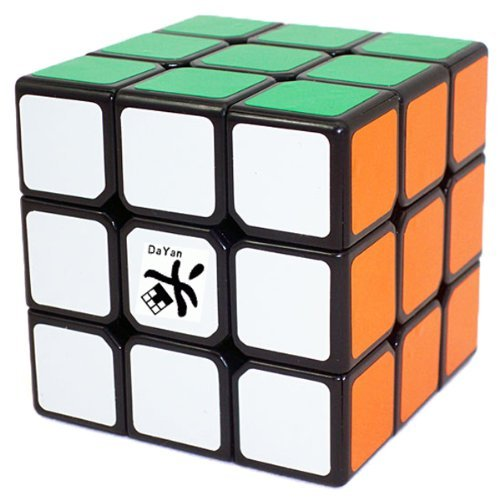 Dayan 5 ZhanChi 3x3x3 Speed Cube Black  available at amazon for Rs.748