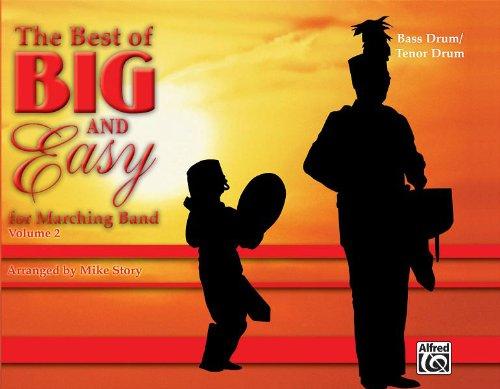 ALFRED PUBLISHING STORY MICHAEL - BEST OF BIG AND EASY II - TENOR DRUM Noten Pop, Rock, .... Drums