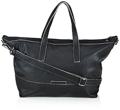 Esprit Womens Alice City Bag Tote 014EA1O013 Black