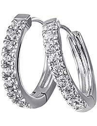 Goldmaid - Boucles d'oreilles - Argent 925/1000 - Oxyde de Zirconium - Femme
