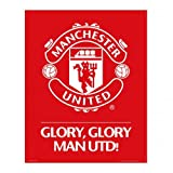 Footie Gifts Mini poster, motivo: Manchester United F.C Crest (#99)