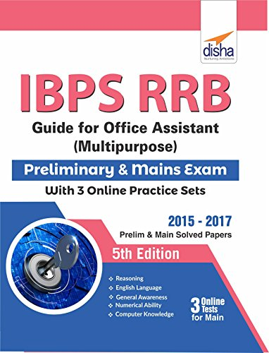 IBPS RRB Guide for Office Assistant (Multipurpose) Preliminary & Mains Exam with 3 Online Practice Sets