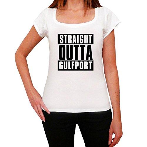 Straight Outta Gulfport, t-shirt damen, stadt tshirt, straight outta tshirt