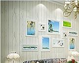 Yosot Antike Vliestapeten Mediterrane Fransen Tapete Schlafzimmer Wohnzimmer Tv Hintergrund Wand Holz Imitierenden Papier Tapeten Beige