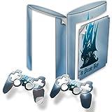 The Pirate Bay, Designfolie Sticker Skin Aufkleber Schutzfolie mit Farbenfrohem Design für PlayStation 3 Super Slim