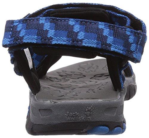Ao Wolfskin Sport Mares Crianças kinder Jack Blau Sete 1127 Ar amp; azul Sandalen Clássico Unisex Livre vdqxYB