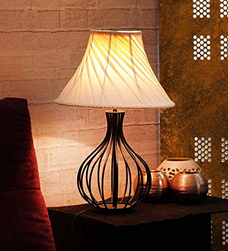 Yashasvi Continuum Black Orbits Table Lamp