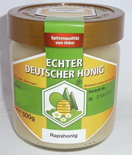 Rapshonig Echter Deutscher Honig 500g