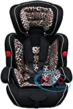 Mcc 3in1 Convertible Baby Child Car Safety Booster Seat Group 1/2/3 9-36 kg [PINK* GREY* ORANGE* RED* BLUE* SPOTTED* LEOPARD*] (Leopard)