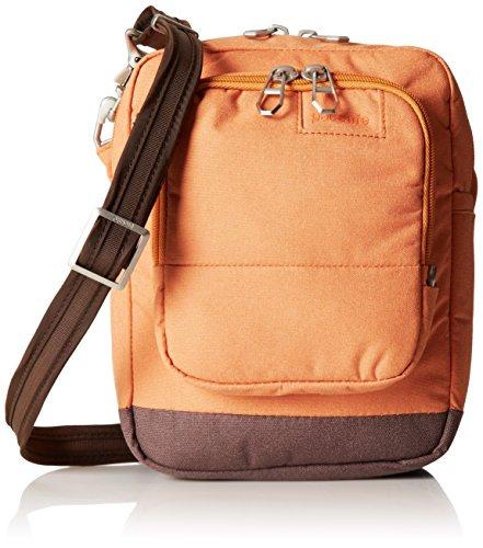 Pacsafe Citysafe LS75Diebstahlschutz Umhängetasche Reisetasche, schwarz (schwarz) - 20305 aprikose