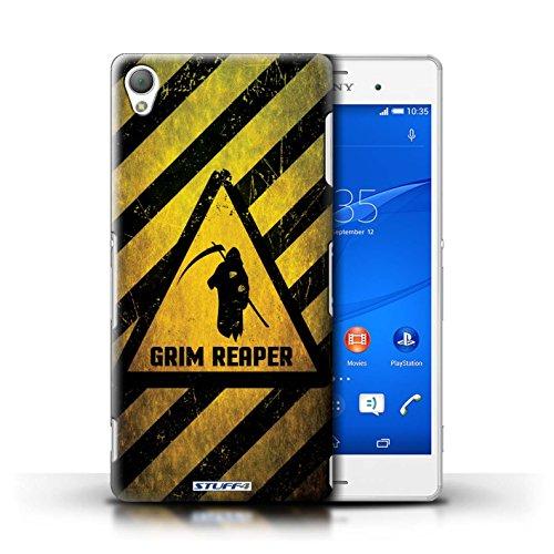 Coque de Stuff4 / Coque pour Sony Xperia Z3 / Bombe Atomique Design / Signes de Danger Collection Décès/Faucheuse