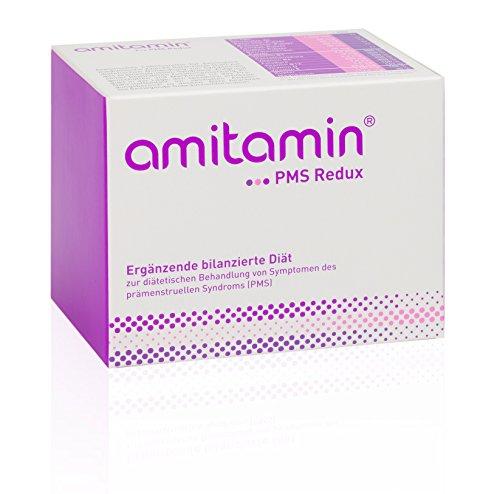 amitamin® PMS Redux - Zur diätetischen Behandlung von Symptomen des prämenstruellen Syndroms (PMS), 60 Ölkapseln und 30 Trockenkapseln (Depression Für Pillen Frauen)