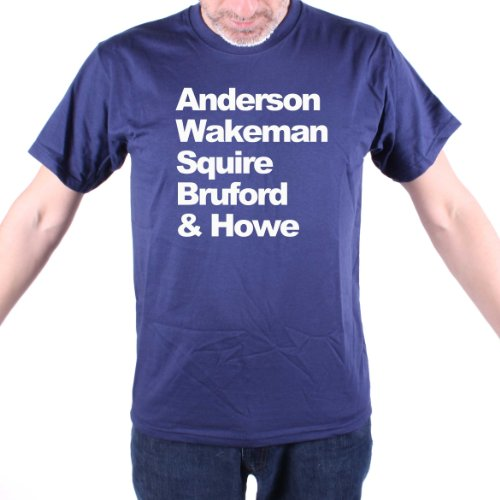 Anderson Wakeman Squire Bruford & Howe T Shirt - Yes!