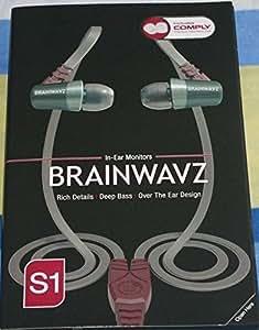 Brainwavz S1 Over The Ear IEM Earphones