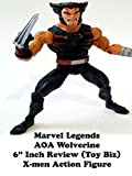 Review: Marvel Legends AOA Wolverine 6