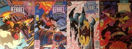 Batman : La Espada de Azrael, coleccion