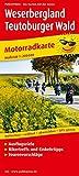 Weserbergland - Teutoburger Wald: Motorradkarte mit Ausflugszielen, Einkehr- & Freizeittipps und Tourenvorschlägen, wetterfest, reißfest, abwischbar, GPS-genau. 1:200000 (Motorradkarte / MK) -