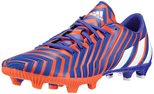 adidas Performance Predator Absolion Instinct Firm Ground, Herren Fußballschuhe, Mehrfarbig (Solar Red/FTWR White/Night Flash S15), 40 EU