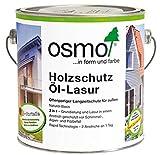 Osmo Holzschutz Öl-Lasur 2,5L (900 Weiss)