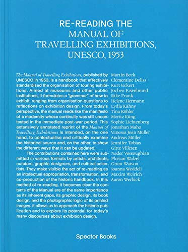 Re-reading the Manual of Travelling Exhibitions (Edition 76135 – Books from the HfG Karlsruhe University of Arts and Design)