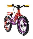 Laufrad S'COOL Kinder Pedex Dirt Lernlaufrad, Violett/Red Matt, 14 Zoll bei Amazon