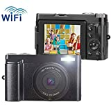 Best Compact Video Cameras - Vlogging Camcorder Camera 24MP Ultra HD WiFi Digital Review