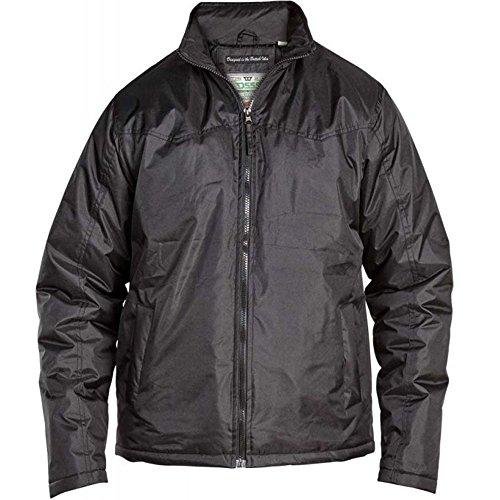 D555 Herren Jacke schwarz schwarz Schwarz