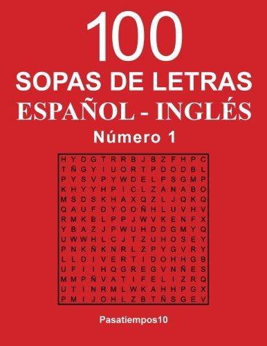 100 Sopas De Letras Español