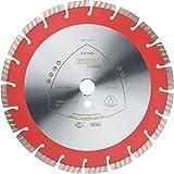 KLINGSPOR Diamanttrennscheibe DT602A Supra für Motortrennschleifer, Aufnahme 20 mm, Durchmesser 350 mm, 327026
