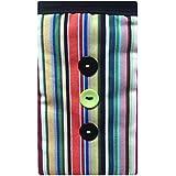 Diseño de rayas funda para teléfono calcetín funda para Samsung Galaxy Core Prime