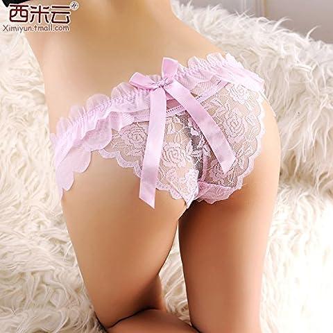 RRRRZ*Sexy Unterwäsche Frauen Krawatten transparent Gravur delight 3 Frau Kok