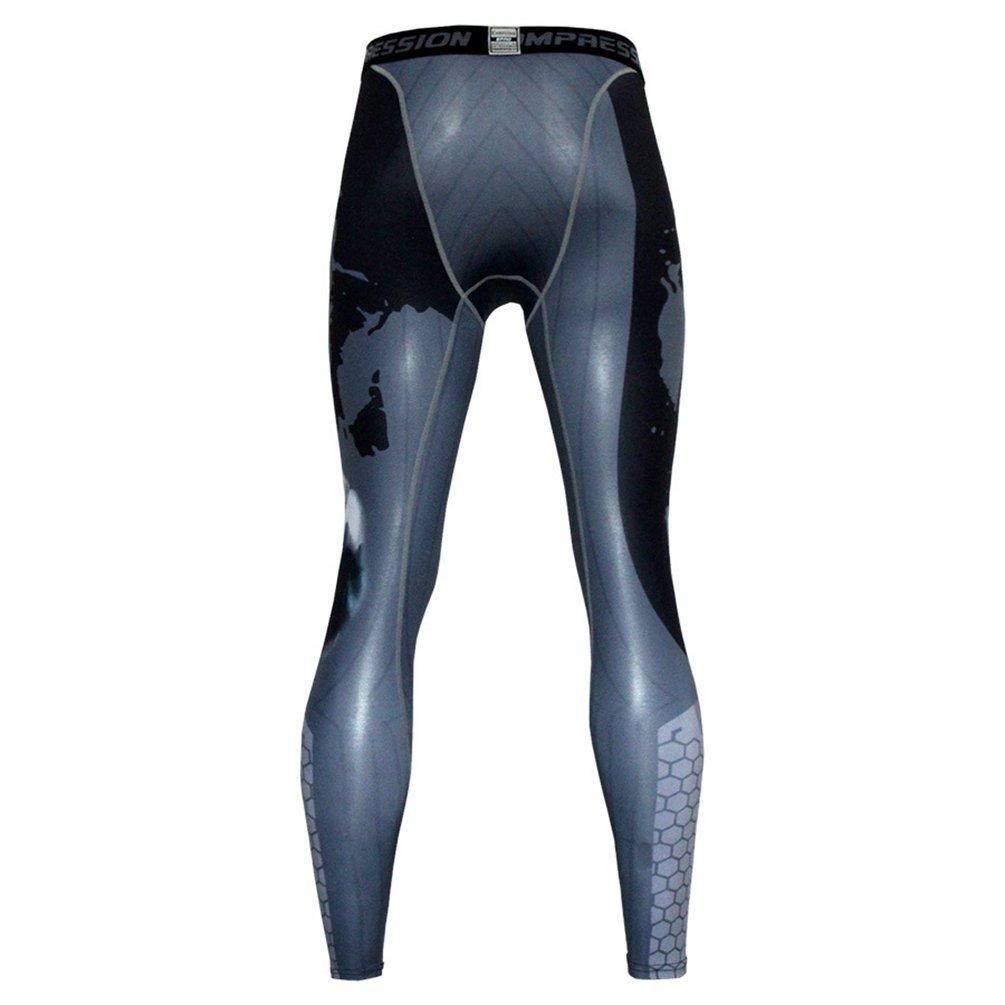 YiJee Uomo Elasticit/à Fitness Jogging Pantaloni Asciugatura Veloce Tights Sports Pantaloni