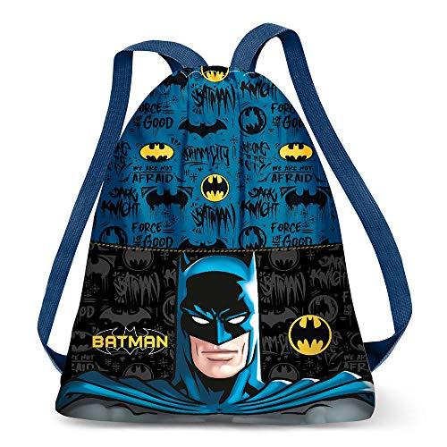 Karactermania Batman Knight-Strap Turnbeutel Bolsa de Cuerdas para el Gimnasio 41 Centimeters Multicolour...