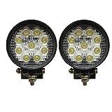 2 X 27W LED SUV lavoro fuori strada luce lampade riflettore proiettore, UTV, ATV Offroad faro luci supplementari lavorare luci 12V 24V