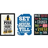 Combo pack of Motivational quotes Wall P...