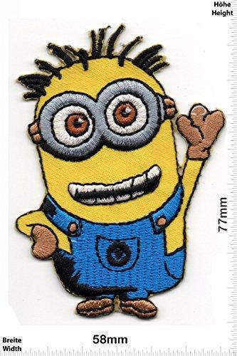 Patch - Minion - Minions -Despicable Me - Bob - Ich Einfach Unverbesserlich - - Movie Game Patch - Cartoon - Comic - Patches - Aufnäher Embleme Bügelbild Aufbügler - Costume