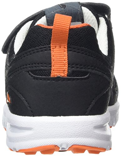 Viking Riptide Ii, Baskets Basses mixte enfant Noir (Black/Orange 231)