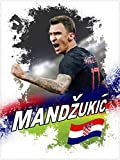 1art1 116421 Fußball - Mario Mandzukic Kroatien Poster