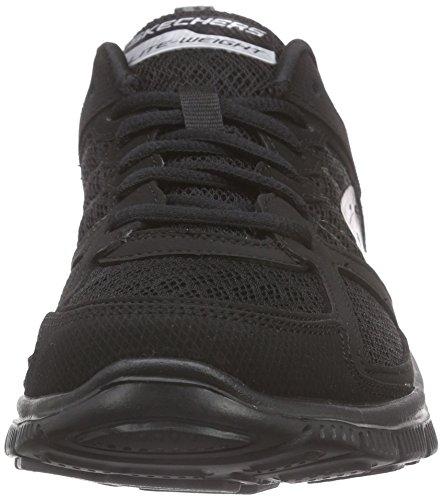 Skechers Flex Appeal Epicenter, Sneakers Women Black (negro (bbk))