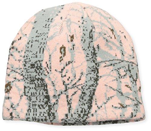 Quietwear Herren Beanie Digital Knit Camo - Pink - Einheitsgröße - Camo Knit Beanie