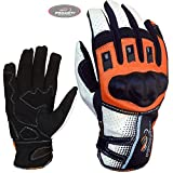 PROANTI Motorradhandschuhe Sommer Motorrad Motocross Handschuhe - Größe XL