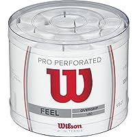Wilson Pro OG Perf Bucket 60 WH Overgrip, Unisex, Blanco, Talla Única