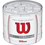 Wilson Pro Overgrip Perforated Empuñadura, 60 unidades,...