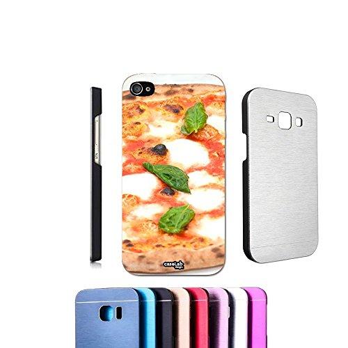 COVER ALLUMINIO PIZZA NAPOLETANA PER IPHONE 4 4S METALLO